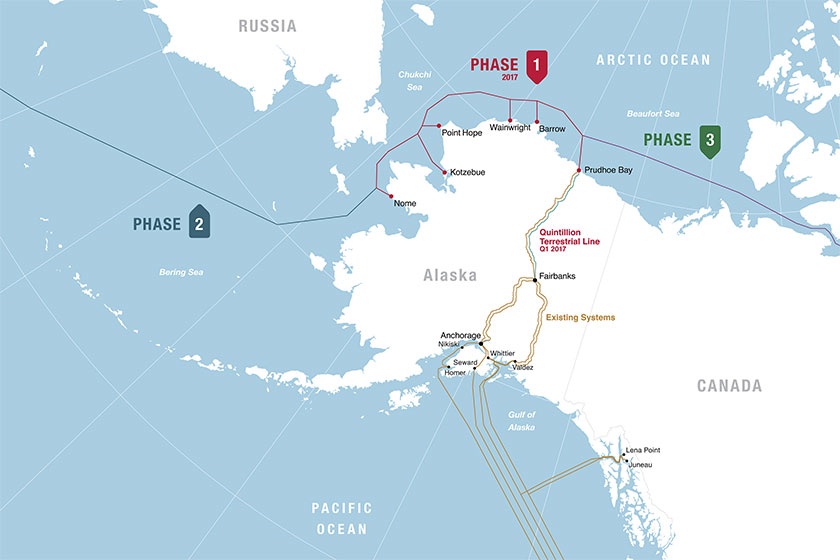 Quintillion system granted landing license by fcc news 2016 2017 alaska map gumiabroncs Image collections