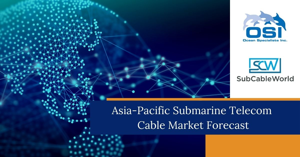 OSI & SCW Forecast a Sharp Uplift in Submarine Telecom Cable Activity in Q3/Q4