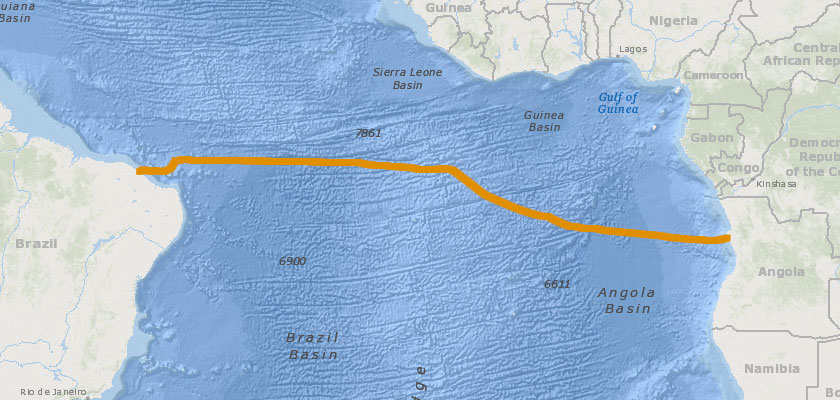 Network Development of South Atlantic Cable System